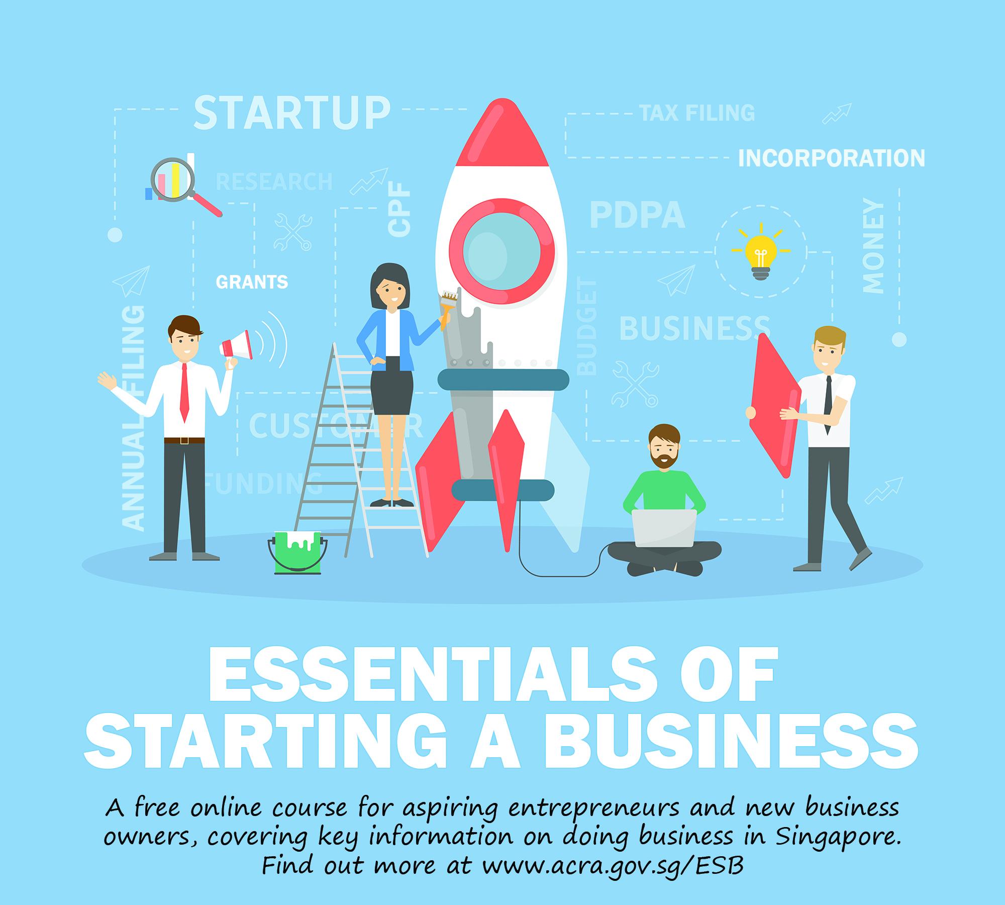 Essentials of starting a business
